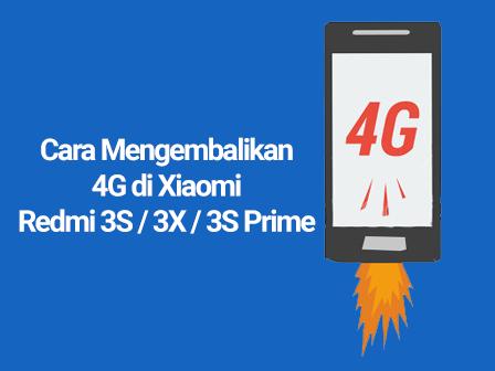 Cara Mengembalikan 4g Di Xiaomi Redmi 3s 3x 3s Prime Redmi 3s Mi Community Xiaomi