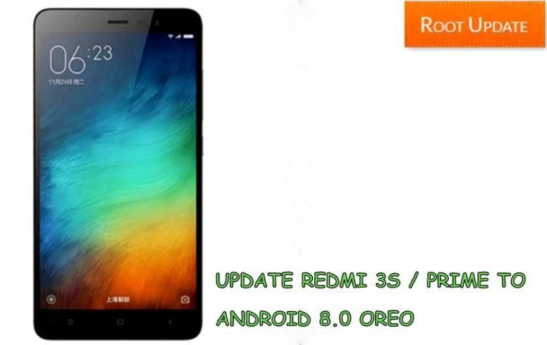 How to Update Redmi 3S/Prime to Android 8 0 Oreo - Redmi 3S - Mi