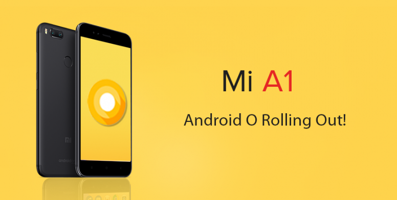 Update Android Oreo 8.0 Official In Xiaomi Mi A1