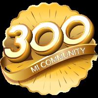 300.000 member