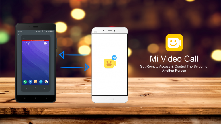 Mi video call: get remote access and control the screen tips