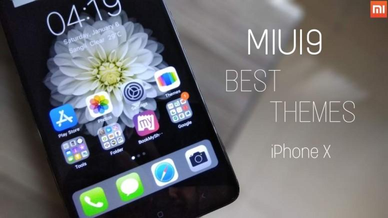 Iphone x black theme for xiaomi device - Themes - Mi Community - Xiaomi