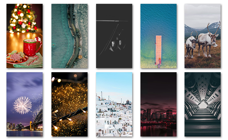 [RT] Top 10 Wallpapers of the week on Global Theme Store ...