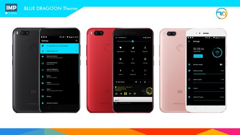 Cara Ganti Tema Xiaomi Mi A1 Tanpa Root - 17 Themes Free