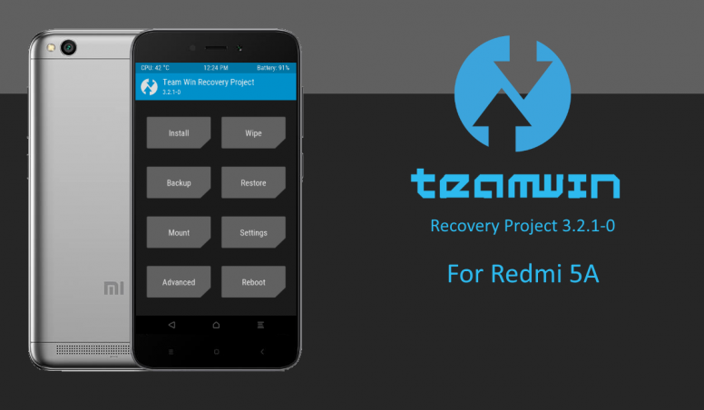 Team Win Recovery Project Xiaomi Redmi Note 4 — TTCT
