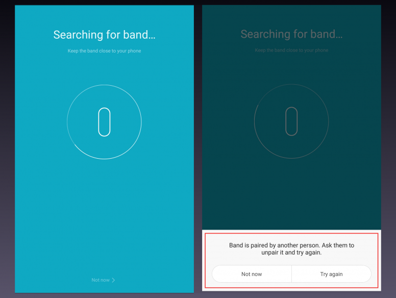 Guide] How to restore factory settings in your Mi Band 2