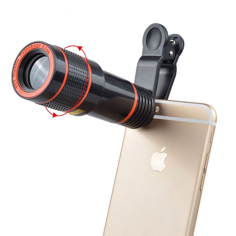 [Phone Lens Tutorial-1] Portrait Shots by Single Camera using 12x Zoom Lens (Blurry Background)