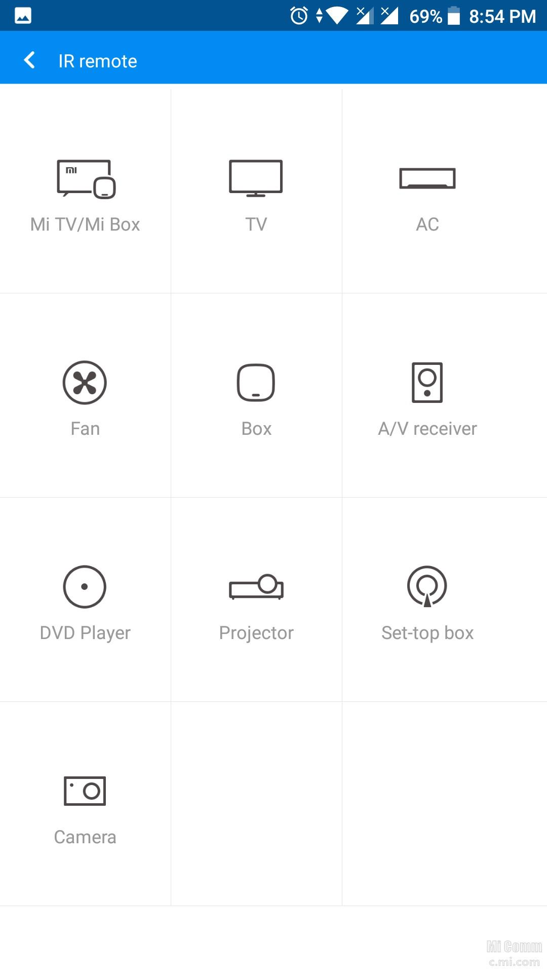 Xiaomi Mi Remote App: All in 1 TV & Appliance Remote app