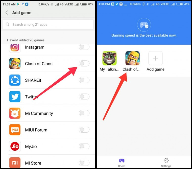 MIUI 9 Game Speed Booster- Experience the New level of