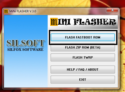 How To Flash Fastboot ROMs Using Mini Flasher - Flashing Guide - Mi