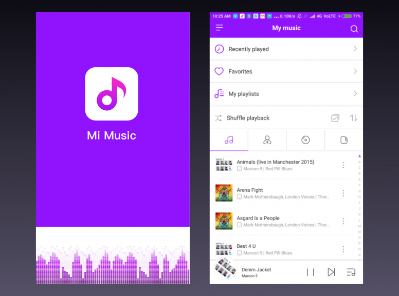Meet the Completely Redesigned Mi Music Player - MIUI