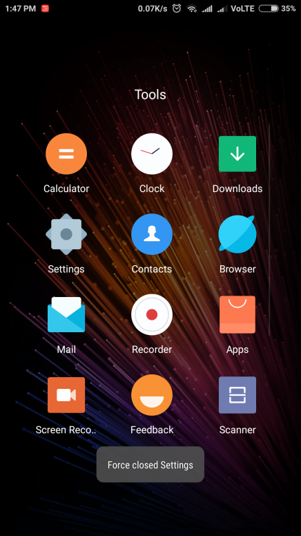 Menu button and Home button not working properly - MIUI