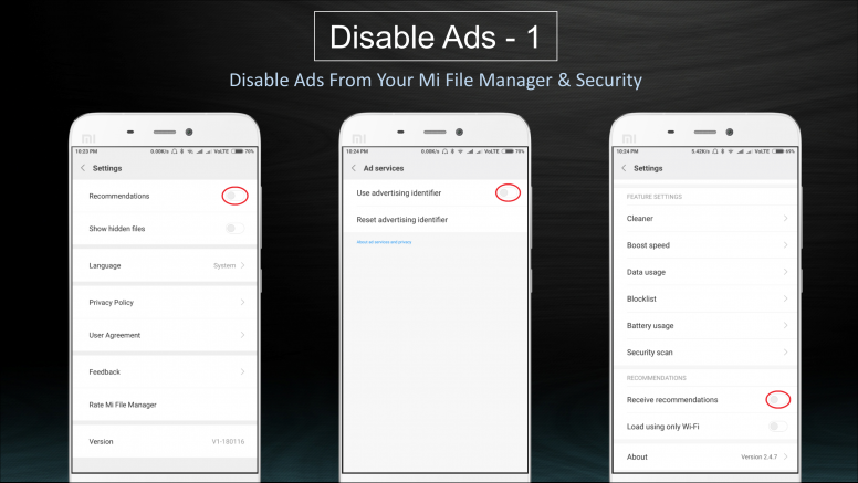 How to Disable Ads in MIUI - Tips and Tricks - Mi Community