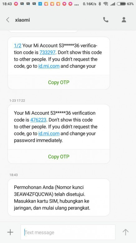Cara Unlock Lupa Password Mi Akun Gratisssssssssssssssssssssss
