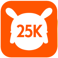 25k users