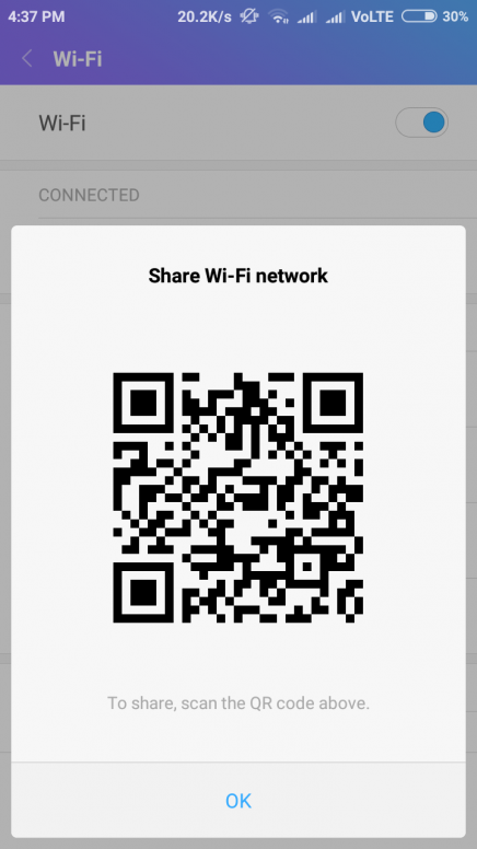 Show or retrieve saved WiFi passwords on Android-Miui Xiaomi phone