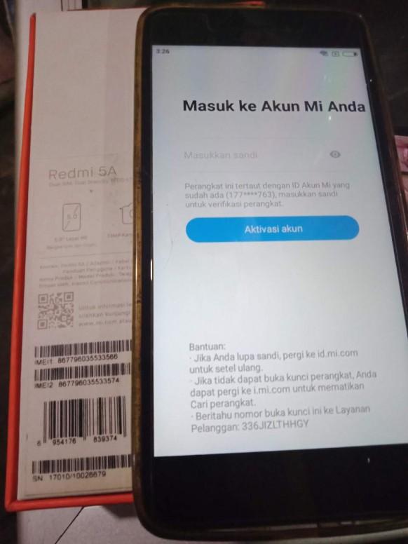 Beli Hp Bekas Dari Orang Redmi 5a Mi Community Xiaomi