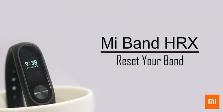 วิธีรีเซ็ต Mi Band - อุปกรณ์เสริม - Mi Community - Xiaomi