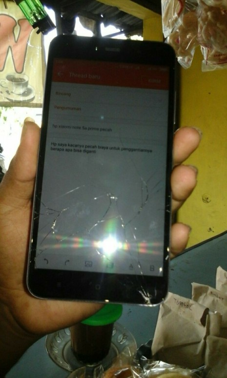 Hp Xiaomi Note 5a Prime Pecah Bincang Mi Community Xiaomi