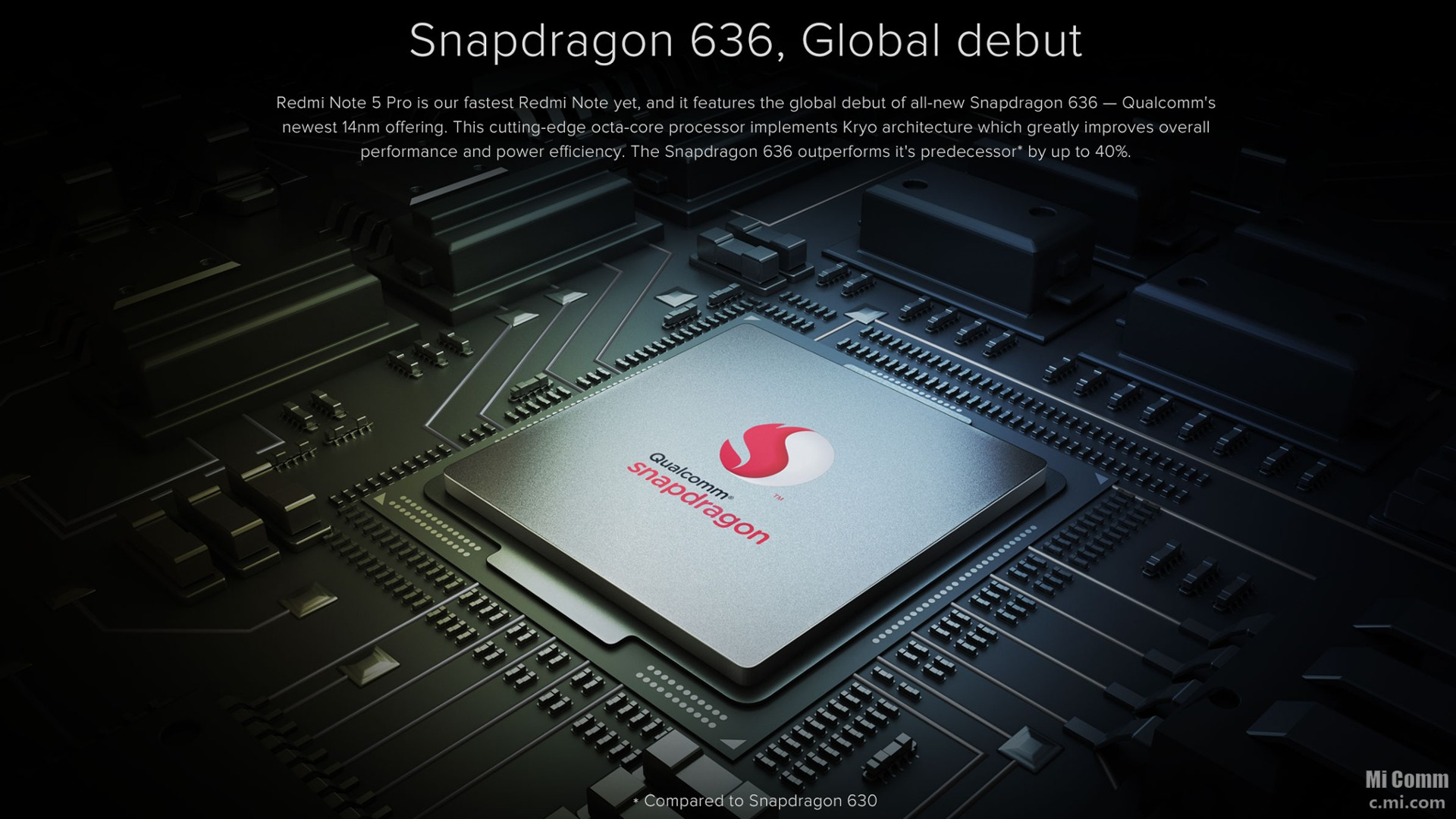 Snapdragon 636 Redmi Note 5 Pro