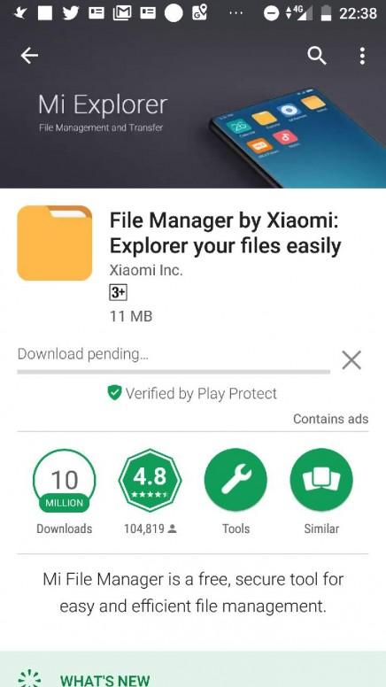 Mi A1 Tidak bisa download di playstore (pending/gagal