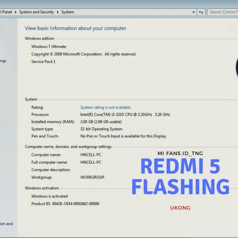 Cara flashing redmi 5 Miflash 32bit - Redmi 5 - Mi Community