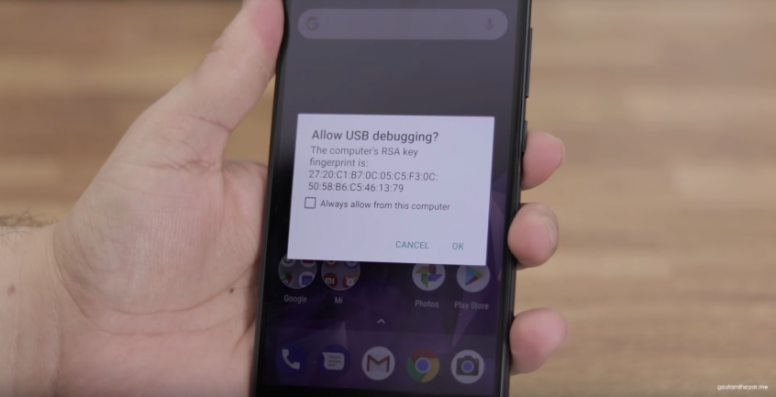 How to install Google Camera HDR+ on Mi A1 using Windows and