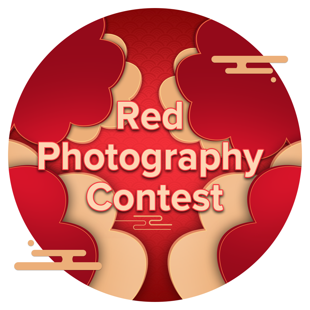 Red Photography Medal