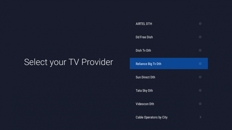 How to setup up Cable/DTH on Mi LED Smart TV 4/4A? - Mi TV
