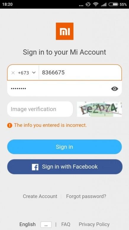 Mi account problems - Redmi - Mi Community - Xiaomi