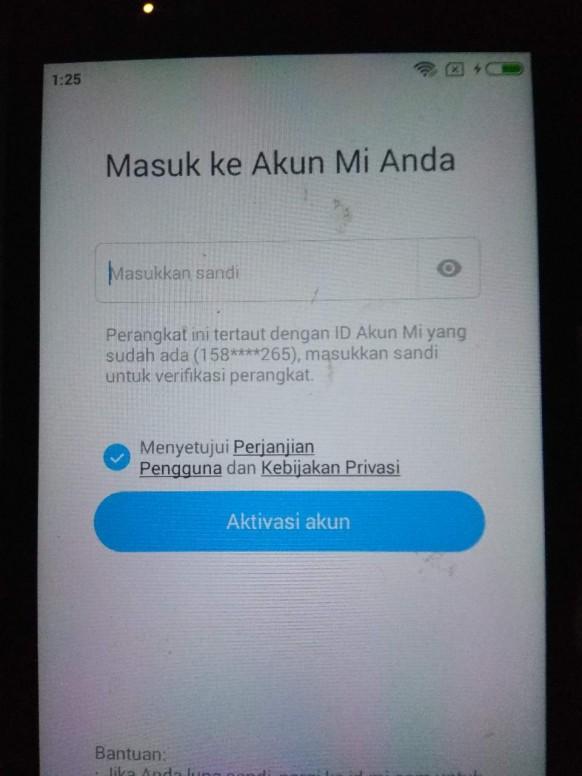 Gimana Cara Buka Xiaomi Yang Lupa Email Nomer Dan Akun Redmi Note
