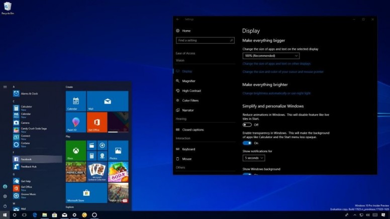 Windows 10 Redstone 4 (version 1803): All the new features and