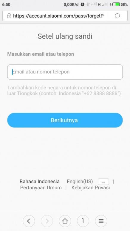 Lupa Kata Sandi Dan Gmail Redmi 5a Mi Community Xiaomi