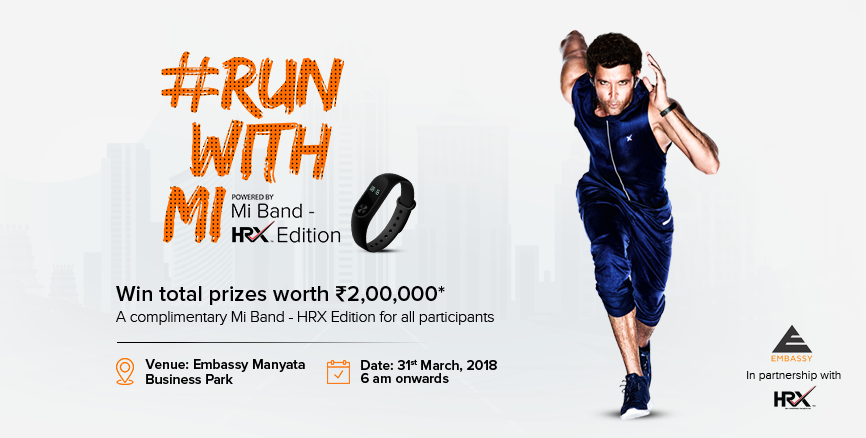 Run With Mi Band HRX Edition