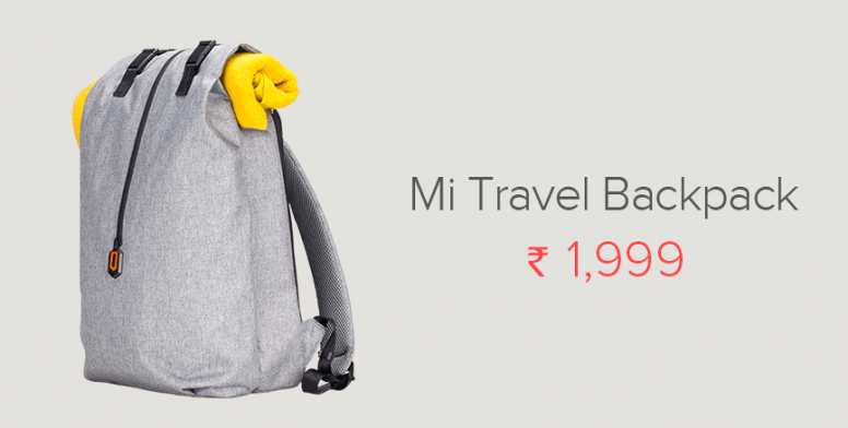 New Accessories Launch: Mi Travel Backpack, Mi City Backpack & Mi Casual Backpack