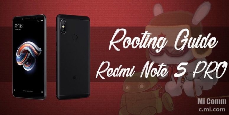 How to flash TWRP and Root Redmi Note 5 PRO - Flashing Guide
