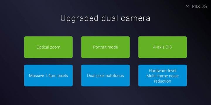 Mi MIX 2S ra mắt: Camera kép, AI, sạc không dây, giá từ 12 triệu VNĐ