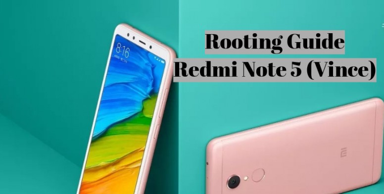 How To Flash TWRP and Root Redmi Note 5 (Vince) - Flashing