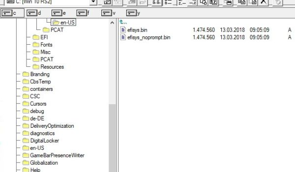 Windows 3 0-style file browser lets you navigate like its
