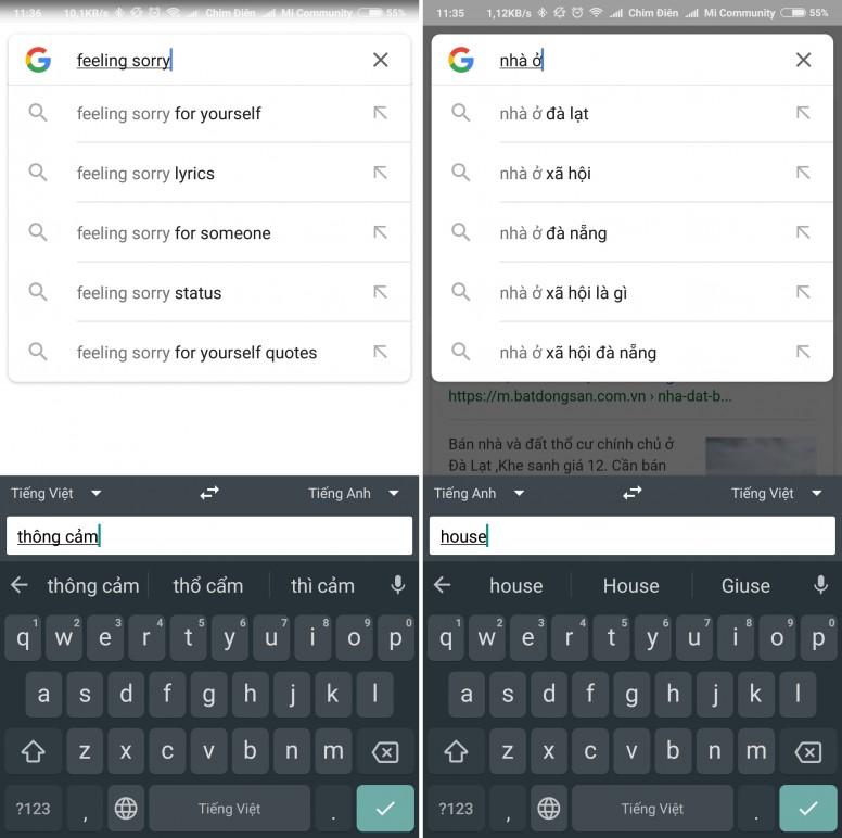 Chia sẻ về bàn phím gõ tiếng Việt bạn đang sử dụng: Gboard, Laban