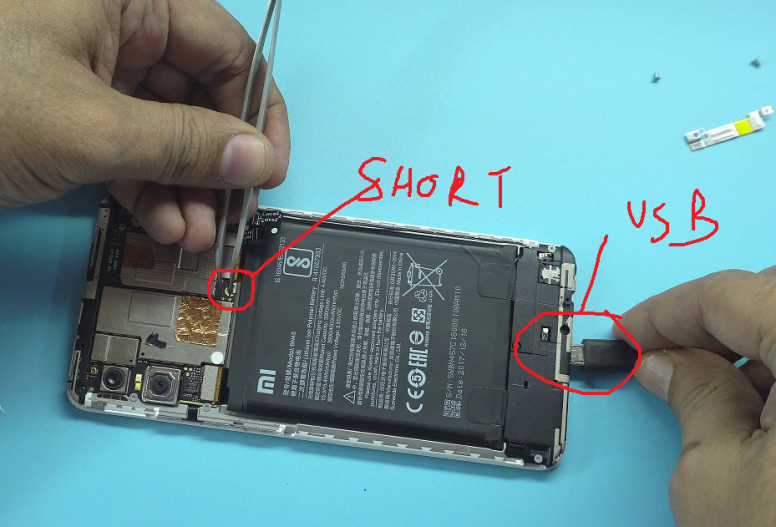 EDL Mode on Redmi Note 5 Pro | Xiaomi Redmi Note 5 Pro