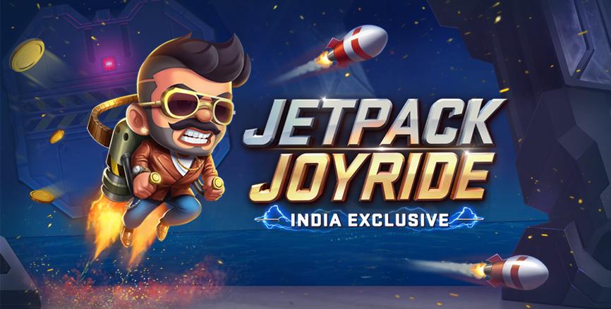 Download Jetpack Joyride India Exclusive Game on Mi Apps store