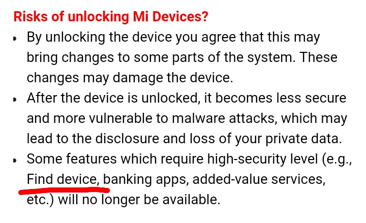 Mi Devices Bootloader Unlocking Tutorial & Unlocking Tool - Chat
