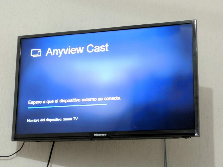 Anyview cast | I can not connect my HP laptop to my Hisense