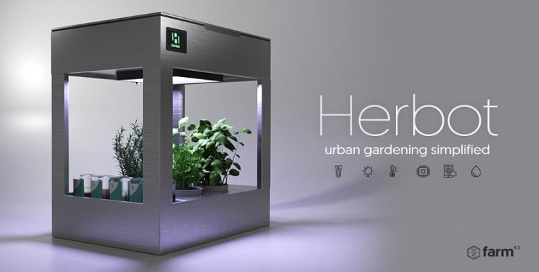 Herbot: Worldu0027s First Artificial Intelligence Indoor Garden
