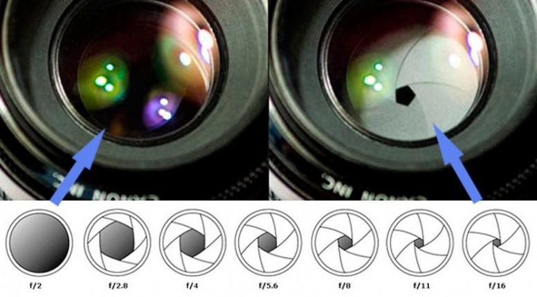 диафрагма матрица выдержка в фотоаппарате