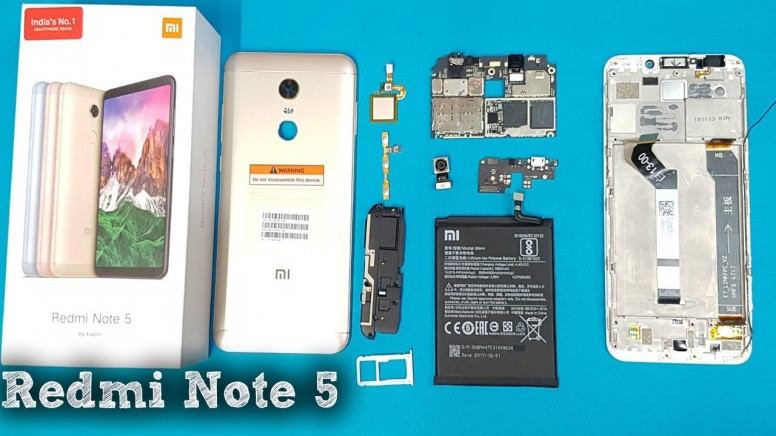 Device Team  Redmi Note 5 Teardown - Redmi Note 5 - Mi Community
