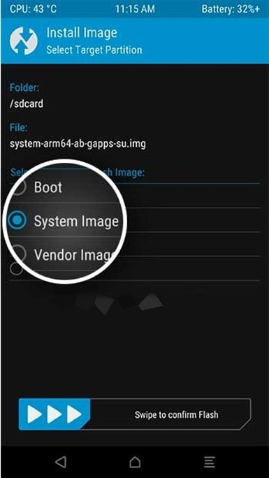 How to flash a Generic System Image on Redmi Note 5 Pro