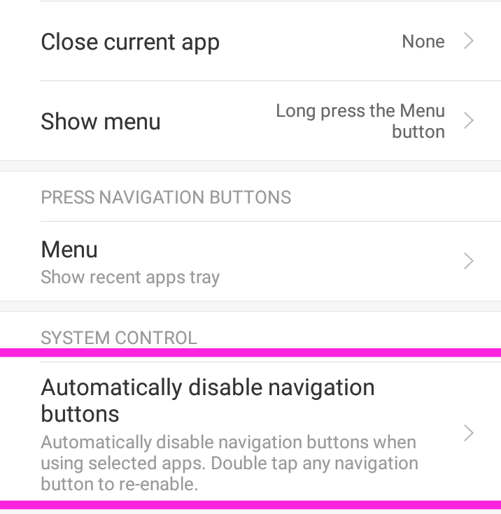 How to disable Navigation Buttons While Gaming - Tips & Tricks - Mi