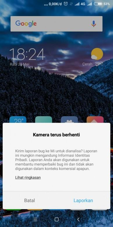 Bug pada kamera Redmi 5 (rosy) - Redmi 5 - Mi Community - Xiaomi